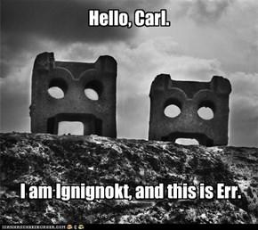 Hello, Carl.
