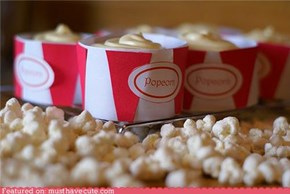 Epicute: Popcorn Cupcakes
