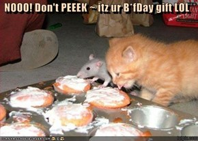 NOOO! Don't PEEEK ~ itz ur B*fDay gift LOL