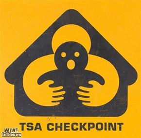 TSA Checkpoint WIN