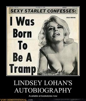 LINDSEY LOHAN'S AUTOBIOGRAPHY