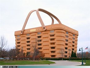 Hey! There's a Building in my Basket!