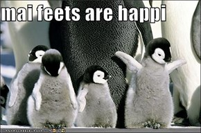mai feets are happi