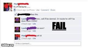 Sensitivity FAIL