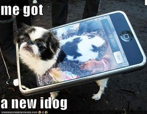 me got  a new idog