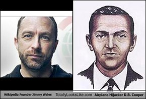 Wikipedia Founder Jimmy Wales Totally Looks Like Airplane Hijacker D.B. Cooper