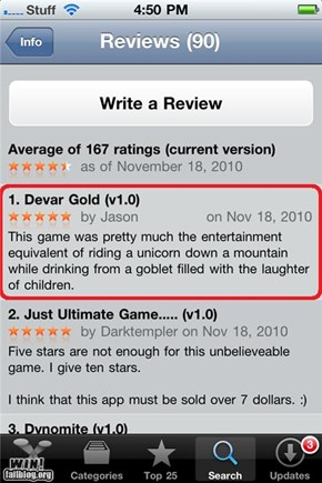 App Review WIN