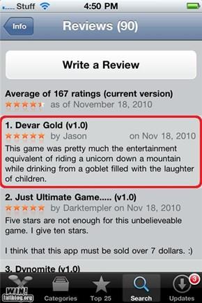 App Review WIN