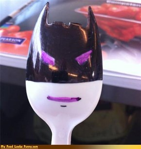 Funny Food Photos - Batman Spork