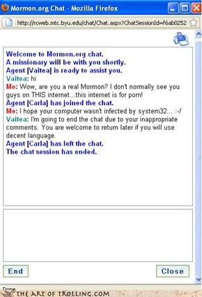 Mormons: System32