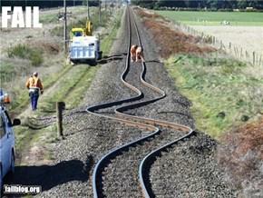 Railway Track Fail