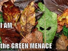 I AM the GREEN MENACE
