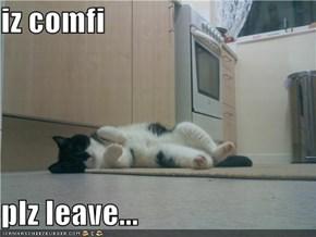 iz comfi  plz leave...