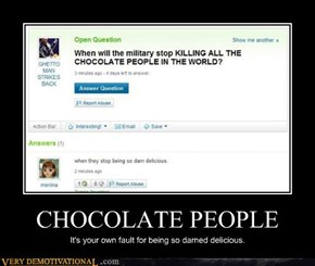 CHOCOLATE PEOPLE