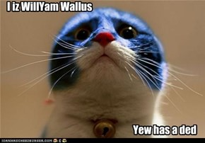 I iz WillYam Wallus