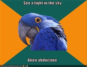 Paranoid Parrot: Probes!