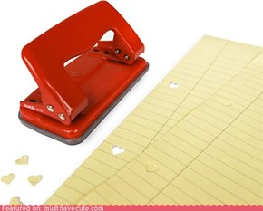 Heart-Shaped Hole Puncher <3