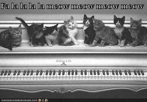 Fa la la la la meow meow meow meow