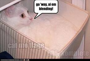 go 'way, ai em blending!