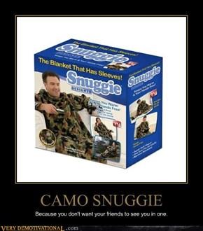 CAMO SNUGGIE
