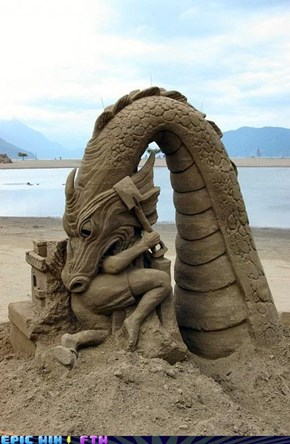 Sand Dragons are Dangerous