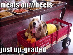 meals on wheels  just up-graded