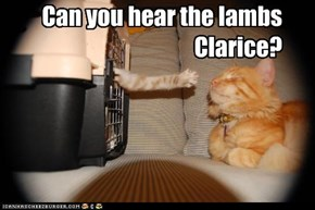 Can you hear the lambs Clarice?