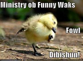 Ministry ob Funny Waks Fowl Dibishun!