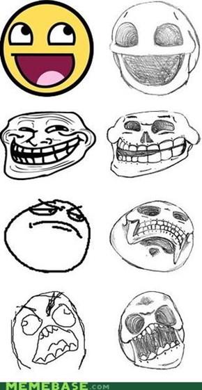 Troll Skull