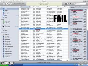 iTunes Genius Fail