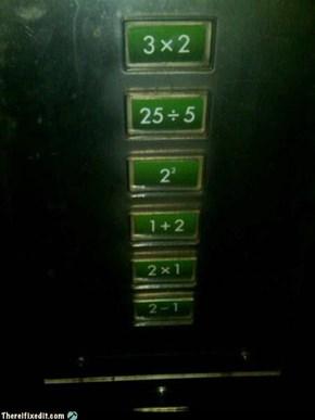 Math Nerd's Elevator