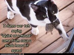 Squeak squeak