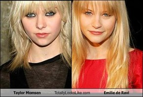 Taylor Momsen Totally Looks Like Emilie de Ravi