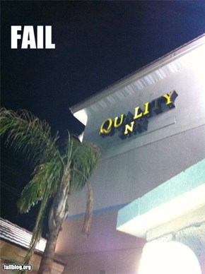 Quality Fail