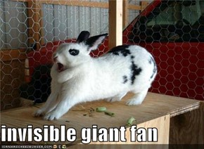 invisible giant fan