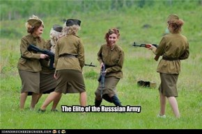 The Elite of the Russsian Army