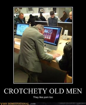 CROTCHETY OLD MEN