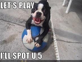 LET'S PLAY  I'LL SPOT U 5