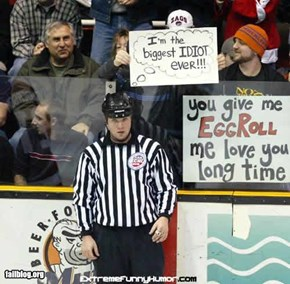 Hockey ref Fail