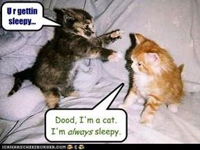 U r gettin sleepy...