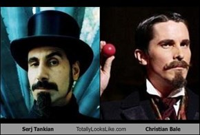 Serj Tankian Totally Looks Like Christian Bale