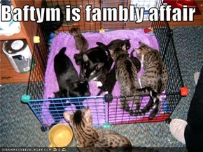 Baftym is fambly affair