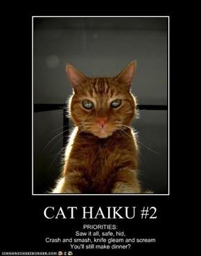 CAT HAIKU #2