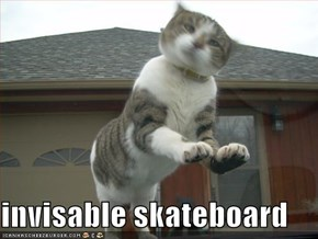 invisable skateboard