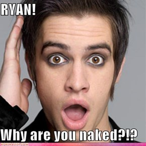 Brendon knows he likes it ;)