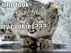 who took my cookies???