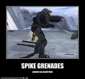 SPIKE GRENADES