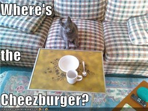 Where's the Cheezburger?