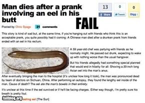 Prank FAIL