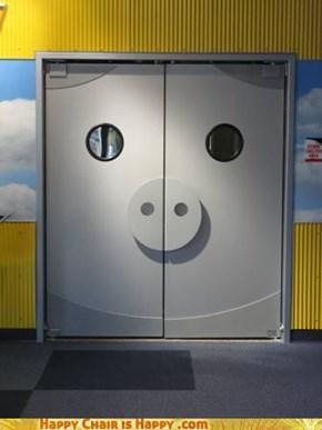 Piggy door